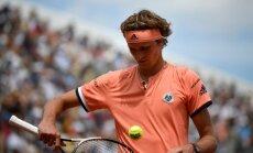 French Open: Alexanderis Zverevas