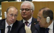Vladimiras Putinas, Sergejus Lavrovas, Vitalijus Čiurkinas
