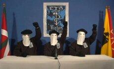 Baskų separatistų grupuotė ETA skelbia ilgalaikes paliaubas