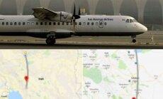 Irane nukrito lėktuvas su 66 keleiviais