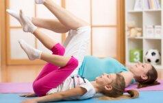 6 sveikatą stiprinantys pratimai ikimokyklinukams