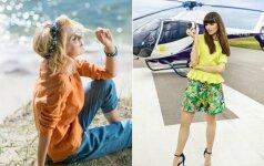 Žymios moterys vasarą pasitinka su spalvingais lietuvių kūrėjų drabužiais