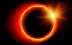 Ką labiausiai paveiks rytoj vyksiantis Saulės užtemimas