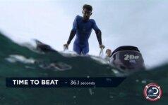 Michaelas Phelpsas ruošiasi kovai su rykliu