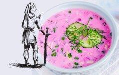 Ką lietuviai valgė senovėje ir kodėl mes mėgstam šaltibarščius