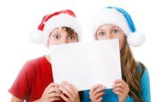 Ko laiškuose Kalėdų seneliui prašo lietuvių vaikai?