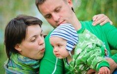 Apie ką dažniausiai meluojame vieni kitiems, kai susilaukiame vaikų?