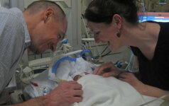 Niekas netikėjo, kad jis gims, bet stebuklas įvyko (FOTO)