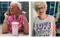INSTA-močiutė: 88 metų moteris laužo stereotipus
