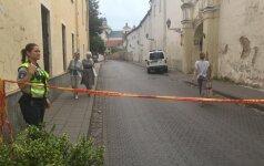 В Вильнюсе хаос – на заброшенной стройке произошел взрыв