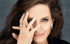 Išskirtinis Angelina Jolie interviu: apie moteriškumą ir švelniąją savo pusę