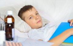 Pavojinga liga, kuri gali būti supainiota su paprastu peršalimu