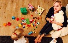 Nijolė Pareigytė: dukrai stengiuosi perteikti viską, ką mėgstu pati