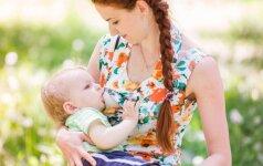 Viešumoje žindžiusi ir piktos reakcijos sulaukusi mama pasielgė netikėtai