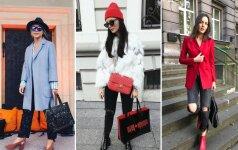 Stilingos moterys išparduoda savo daiktus