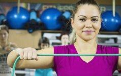 Gydytoja Rūta Burzdžienė: dažniausios klaidos atliekant tempimo pratimus