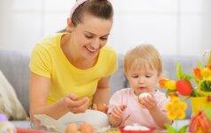 Kiek kiaušinių vaikams rekomenduojama suvalgyti per dieną?