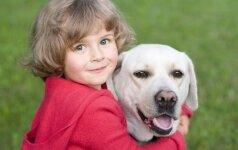 Šuns ir mažylio draugystė VIDEO