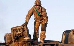 В Литве начала службу новая смена военнослужащих США
