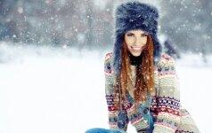 Tarp naujausių grožio priemonių – saugančios nuo žalingo šalčio ir žvarbos poveikio