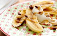 Nepamirštamasis bananų ir saldžios grietinėlės desertas