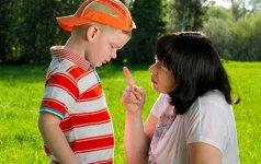 Kas atsitinka, kai mes vaikams sakome NE?