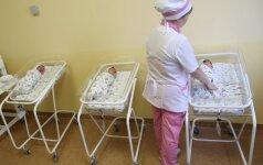 Galvojo, kad laukiasi vieno, o pagimdė iš karto penkis!