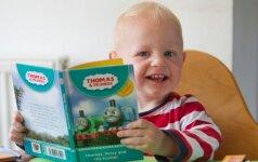Kaip nuo mažų dienų auginti vaiką, kad jis pamėgtų skaityti knygas