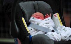 Mažasis Kembridžo princas jau turi vardą!