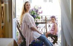 Antro vaikelio belaukianti vedybų planuotoja Viktorija Prokofjeva: gimus Anai mano skaitymai baigėsi