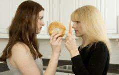 Dieta be glitimo gali būti pavojinga
