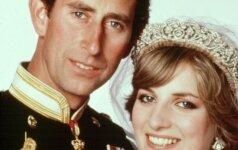 Ar pastebėjai, kad princo Čarlzo ir Dianos nuotraukose yra šis tas neįprasto