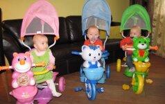 Trynukų iš Klaipėdos mama: sulaukiam daug pagalbos