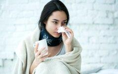Kaip atskirti gripą nuo peršalimo? 9 požymiai