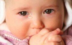 Sunkiai pastebima liga gali užklupti bet kokio amžiaus vaikus
