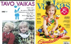 Žurnalas TAVO VAIKAS švenčia 25-erių metų gimtadienį