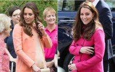 Nėščia Kate Middleton visuomet atrodo puikiai, nes taiko svarbią stiliaus taisyklę