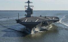 Трамп ввел в боевой состав флота новейший авианосец