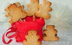 Kvapnūs ir gardūs sausainiai, o svarbiausia – lengvai pagaminami