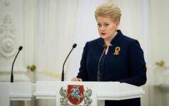 Грибаускайте: Литва и Польша одинаково понимают геополитические вызовы