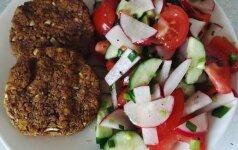 Kotletai be mėsos: ir sveika, ir skanu