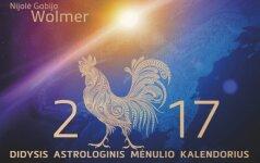 """Laimėkite """"Didįjį astrologinį Mėnulio kalendorių 2017"""""""