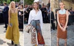 7 tendencijos iš stilingų aukštosios mados savaitės viešnių