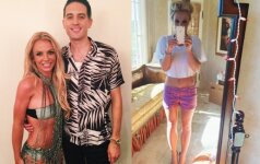 Tai bent figūra! Britney Spears atrodo fantastiškai