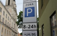 В Вильнюсе дорожает парковка