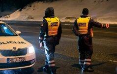 Vairuotojos žinutė padėjusiems policininkams: jūs esate angelai sargai