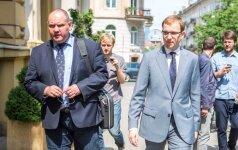Гапшис после допроса: речь не идет о наличных деньгах