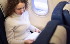 Ar pavojinga nėščiajai skraidyti lėktuvu?