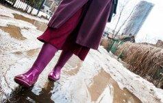 Погода: плюсовая температура, слякоть и дождь