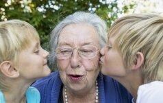 Visas močiutes galima suskirstyti į 3 tipus: kuris geriausias?